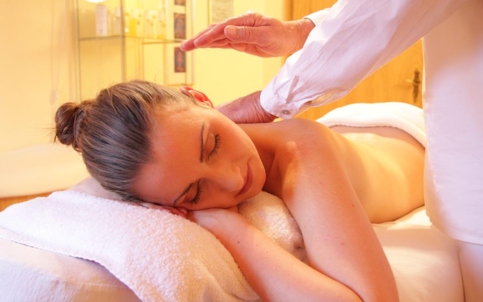 Woman in a Massage Therapist